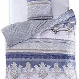 Traumhafte Bettwäsche aus Renforcé - blau 155x220 von DecoKing