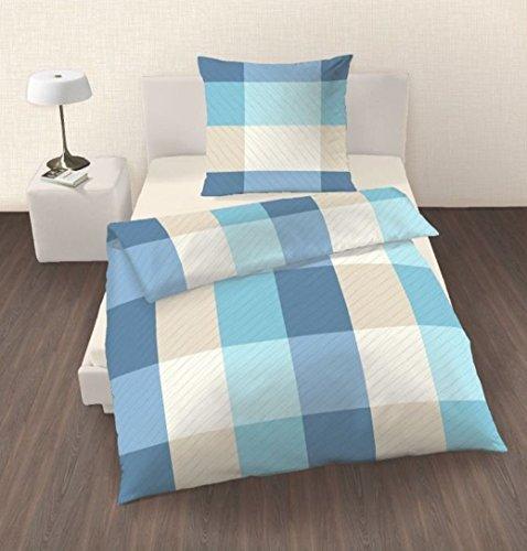 sch ne bettw sche aus renforc blau 155x220 von ido. Black Bedroom Furniture Sets. Home Design Ideas