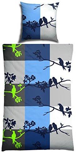 h bsche bettw sche aus renforc blau 155x220 von schiesser bettw sche. Black Bedroom Furniture Sets. Home Design Ideas