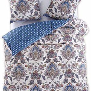 Traumhafte Bettwäsche aus Renforcé - blau 200x200 von DecoKing