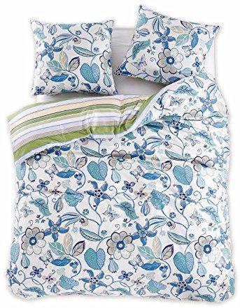 sch ne bettw sche aus renforc blau 200x220 von decoking. Black Bedroom Furniture Sets. Home Design Ideas