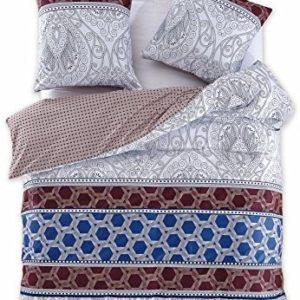 Traumhafte Bettwäsche aus Renforcé - blau 200x220 von DecoKing