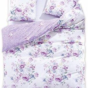 Kuschelige Bettwäsche aus Renforcé - blau 200x220 von DecoKing
