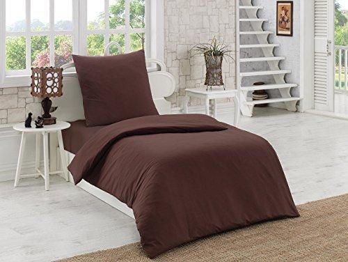 h bsche bettw sche aus renforc braun 135x200 von elit home collection bettw sche. Black Bedroom Furniture Sets. Home Design Ideas