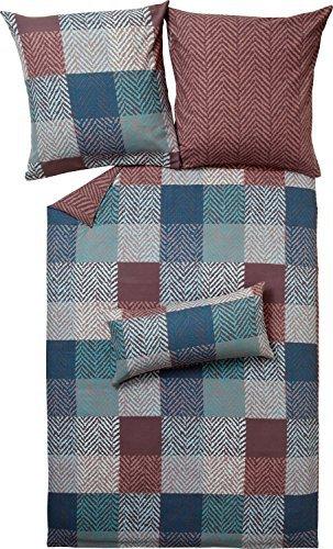 sch ne bettw sche aus renforc braun 135x200 von erwin. Black Bedroom Furniture Sets. Home Design Ideas