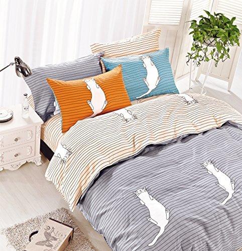 h bsche bettw sche aus renforc grau 135x200 von decoking bettw sche. Black Bedroom Furniture Sets. Home Design Ideas