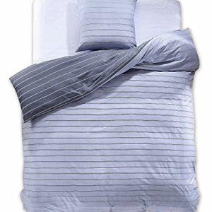 Traumhafte Bettwäsche aus Renforcé - grau 135x200 von DecoKing