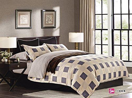 h bsche bettw sche aus renforc grau 200x200 von. Black Bedroom Furniture Sets. Home Design Ideas
