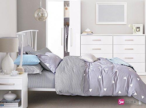 h bsche bettw sche aus renforc grau 200x200 von decoking bettw sche. Black Bedroom Furniture Sets. Home Design Ideas
