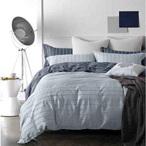 Kuschelige Bettwäsche aus Renforcé - grau 200x200 von DecoKing
