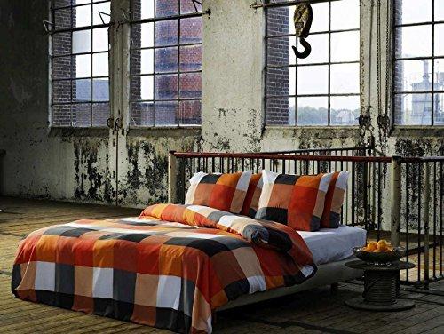 sch ne bettw sche aus renforc grau 200x200 von et rea. Black Bedroom Furniture Sets. Home Design Ideas
