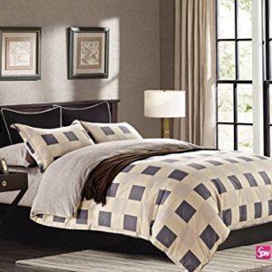 Kuschelige Bettwäsche aus Renforcé - grau 200x220 von DecoKing