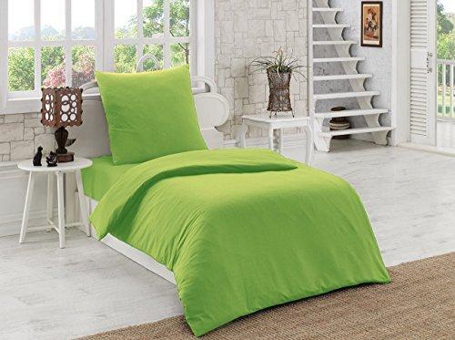 h bsche bettw sche aus renforc gr n 135x200 von elit. Black Bedroom Furniture Sets. Home Design Ideas