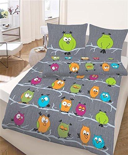 kuschelige bettw sche aus renforc gr n 155x220 bettw sche. Black Bedroom Furniture Sets. Home Design Ideas