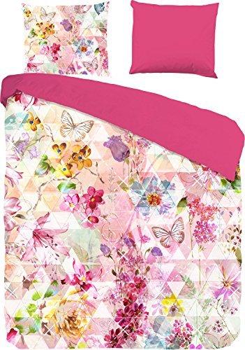 traumhafte bettw sche aus renforc rosa 135x200 von good morning bettw sche. Black Bedroom Furniture Sets. Home Design Ideas