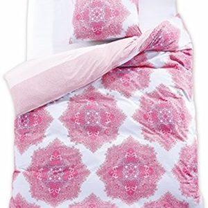Hübsche Bettwäsche aus Renforcé - rosa 155x220 von DecoKing