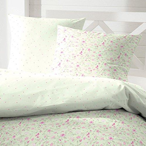 sch ne bettw sche aus renforc rosa 155x220 von hahn. Black Bedroom Furniture Sets. Home Design Ideas