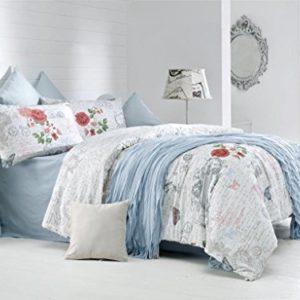 Schöne Bettwäsche aus Renforcé - rosa 200x200 von Optima