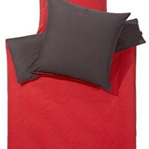 Kuschelige Bettwäsche aus Renforcé - rot 135x200 von Schiesser