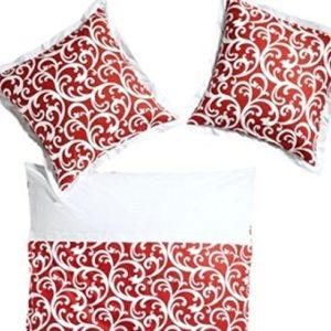 Traumhafte Bettwäsche aus Renforcé - rot 155x220 von heine home