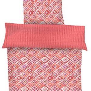 Hübsche Bettwäsche aus Renforcé - rot 155x220 von s.Oliver
