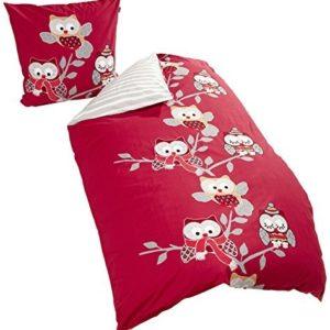 Traumhafte Bettwäsche aus Renforcé - rot 155x220 von Schiesser
