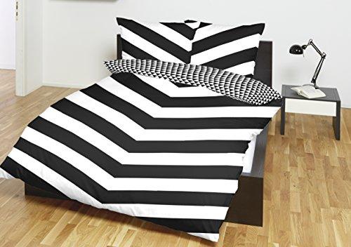 sch ne bettw sche aus renforc schwarz 155x220 von primera bettw sche. Black Bedroom Furniture Sets. Home Design Ideas