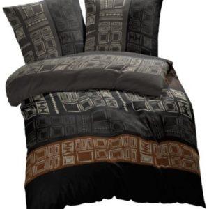 Traumhafte Bettwäsche aus Renforcé - schwarz 200x200 von Etérea