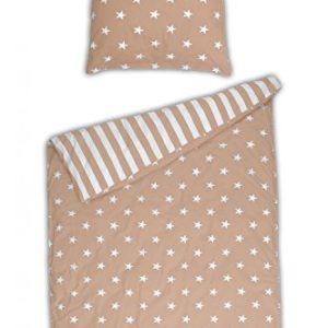 Schöne Bettwäsche aus Renforcé - Sterne 155x220 von Schiesser