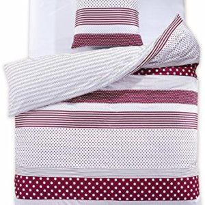 Hübsche Bettwäsche aus Renforcé - weiß 135x200 von DecoKing
