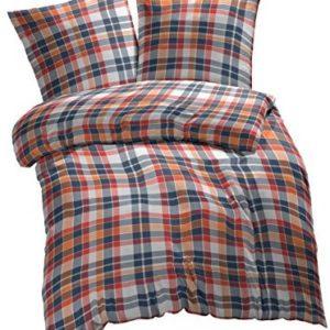 Hübsche Bettwäsche aus Renforcé - weiß 135x200 von Etérea