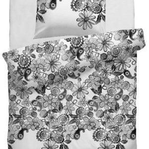 Schöne Bettwäsche aus Renforcé - weiß 135x200 von HNL