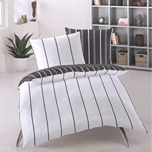 Kuschelige Bettwäsche aus Renforcé - weiß 135x200 von Primera