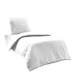 Schöne Bettwäsche aus Renforcé - weiß 155x220 von Elit Home Collection