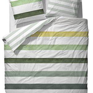 Kuschelige Bettwäsche aus Satin - 135x200 von ESPRIT