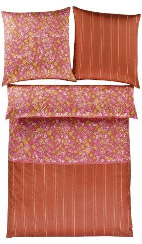 Hübsche Bettwäsche aus Satin - 135x200 von s.Oliver