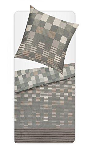 Schöne Bettwäsche aus Satin - 135x200 von s.Oliver