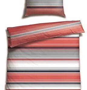 Hübsche Bettwäsche aus Satin - 135x200 von Schiesser