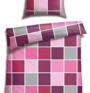 Kuschelige Bettwäsche aus Satin - 135x200 von Schiesser