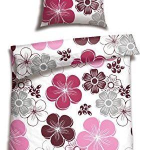 Traumhafte Bettwäsche aus Satin - 155x220 von Schiesser