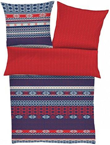 kuschelige bettw sche aus satin blau 135x200 von s. Black Bedroom Furniture Sets. Home Design Ideas