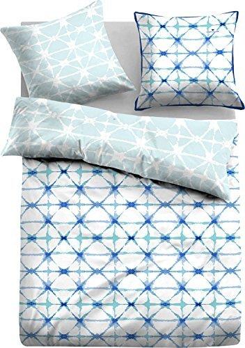 kuschelige bettw sche aus satin blau 135x200 von tom tailor bettw sche. Black Bedroom Furniture Sets. Home Design Ideas