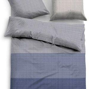 Traumhafte Bettwäsche aus Satin - blau 135x200 von TOM TAILOR