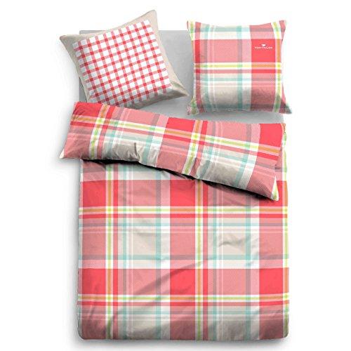 sch ne bettw sche aus satin blau 135x200 von tom tailor bettw sche. Black Bedroom Furniture Sets. Home Design Ideas