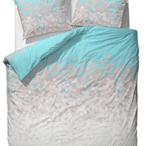 Hübsche Bettwäsche aus Satin - blau 200x200 von ESPRIT