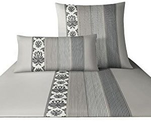 Traumhafte Bettwäsche aus Satin - braun 135x200 von Joop!