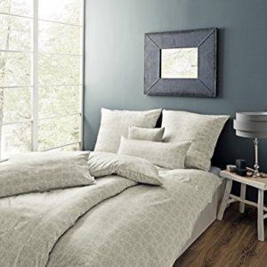 Traumhafte Bettwäsche aus Satin - grau 135x200 von Estella