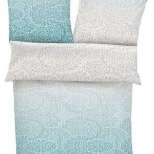 Schöne Bettwäsche aus Satin - grau 135x200 von s.Oliver