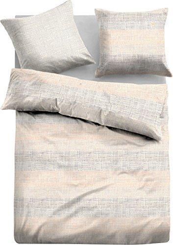 kuschelige bettw sche aus satin grau 135x200 von tom tailo bettw sche. Black Bedroom Furniture Sets. Home Design Ideas