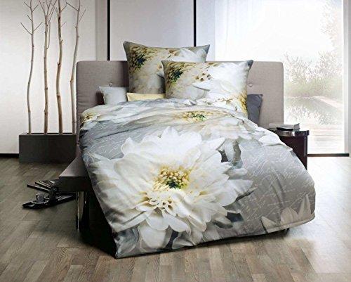 traumhafte bettw sche aus satin grau 155x220 von kaeppel. Black Bedroom Furniture Sets. Home Design Ideas
